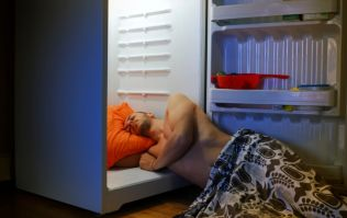 Phew! This is how you can get to sleep when it's a very hot night