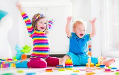 Apparently, toddlers are happier with fewer toys