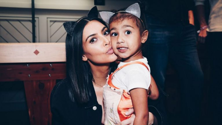 The heartwarming gift North West gave Kim before her Paris trip