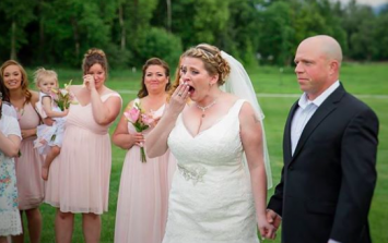 The incredible way this bride's late son is with her on her wedding day