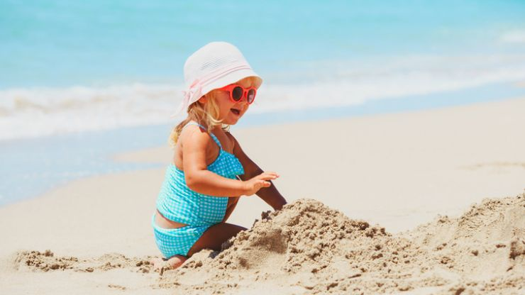 Note this handy hack that will help you clean sand in record time