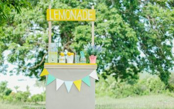 This 5 year old was fined £150 for selling lemonade near her home