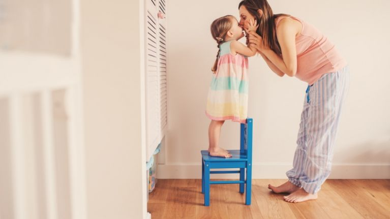 Pregnant mum shares trick to get her daughter to sleep easier and it is too cute