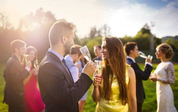 A huge debate about alcohol at weddings has kicked off online