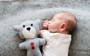 This trick for getting a baby to sleep looks too good to be true