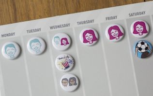 Clever calendar for divorced families promises to make co-parenting a little easier