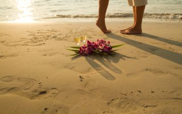 This couple missed their honeymoon for the worst reason