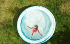 This super simple trick will keep your paddling pool clean when your kid isn't using it