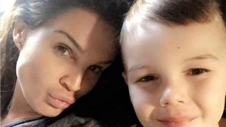 Danielle Lloyd shares son's cheeky request for the tooth fairy
