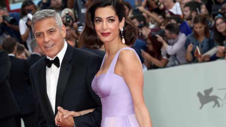 George and Amal Clooney 'spending Easter in Ireland'