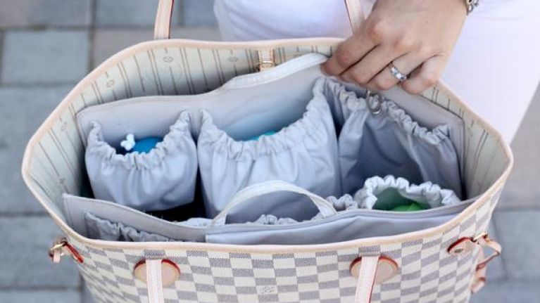 This GENIUS buy lets you turn every handbag into a nappy bag