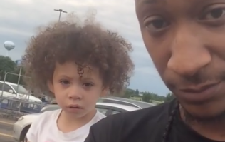 Dad's secret to handling his daughter's temper tantrum is going viral