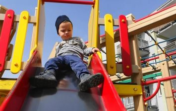 Experts explain why you should never go down a slide with your child