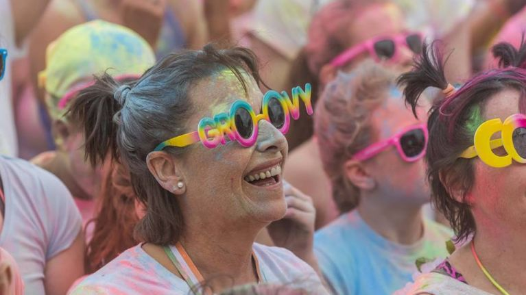 Sign up for the Rainbow Run and WIN a family trip to Tayto Park!