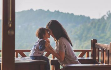 'I will cry later. Oh, how I'll cry'.. one mother's realisation that her son was growing up
