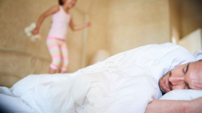 Do your kids interrupt your sleep? You're not alone