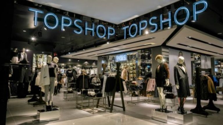 This striking Topshop coat is now less than half price but it looks super expensive