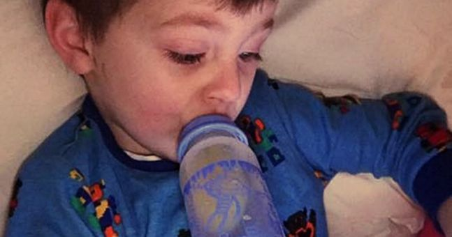 'My little boy is just like your child. He is just wired differently'
