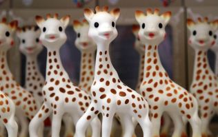 If you have a Sophie La Girafe chew toy, you might want to check for THIS