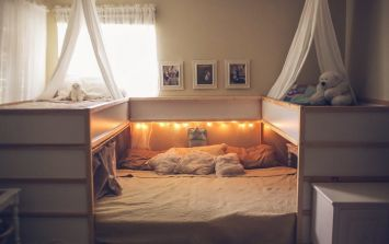 This mum's IKEA family bed hack is kind of amazing