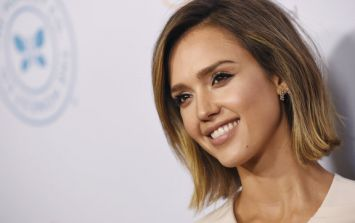 Jessica Alba had the perfect Halloween costume to include her bump