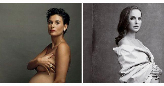 Demi Moore Pregnant Photos 100