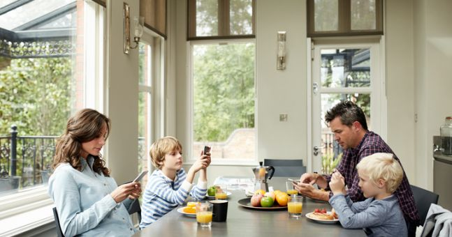 Here's exactly how much time technology is stealing from your family