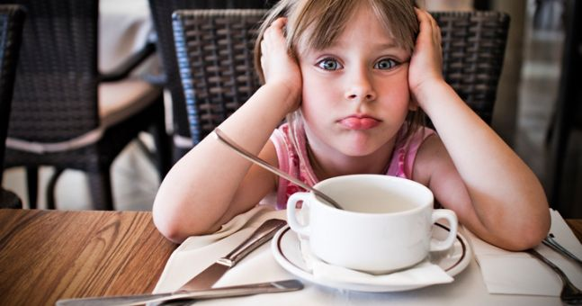 This restaurant is offering a discount for well-behaved children