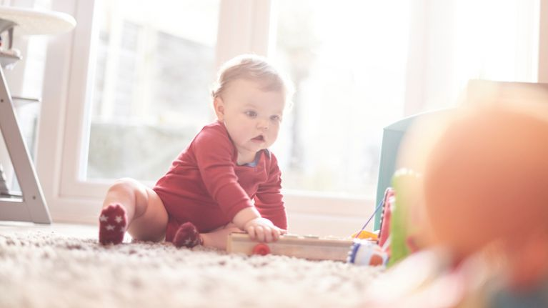 Apparently, this is actually the number of toys that your baby should have