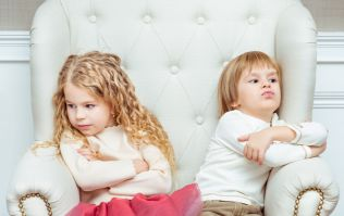 A creative way to help stop sibling squabbles (fingers crossed)