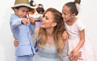 JLo's birthday message to her twins is totes emotes