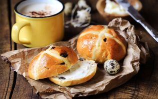 M&S has fancified the hot cross bun this year, and is it Easter already?