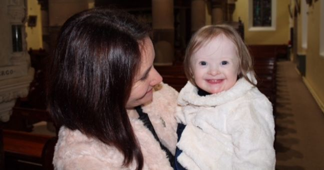 What it's like.... to have a daughter with Down syndrome