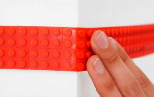 OK, so Lego-tape is a thing... and it makes ANY surface Lego compatible