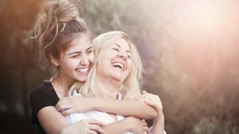 Study shows the more time you spend with your mum and granny, the longer they will live