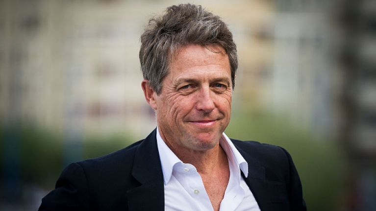 Hugh Grant set to become a dad for the fifth time 'very soon'