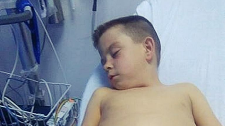 An Irish mum is hoping one tremendous act of generosity may save her little boy's life