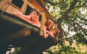 This EPIC treehouse is the stuff of every child's dreams