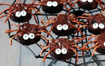 Brownie spiders are the spooky treats to make with the kids