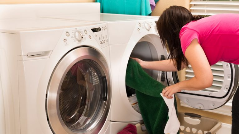 Mum shares her festive 'trick' for dealing with laundry and parents are loving it