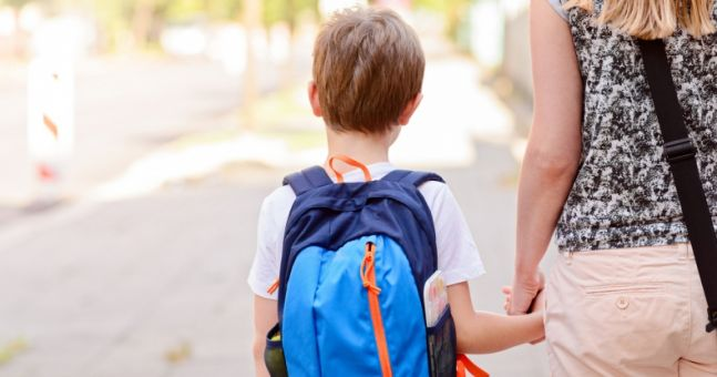 Six-year-old boy criticised for comments on girl's 'underwear' at school