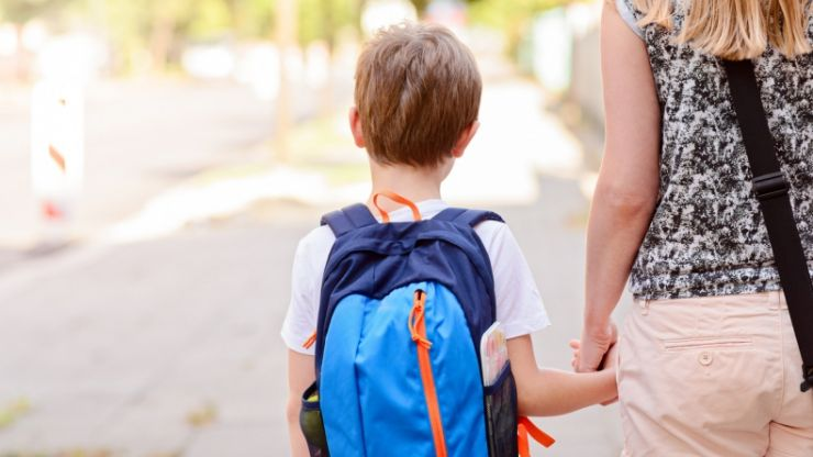 This little keychain will help your child get through their first day of school