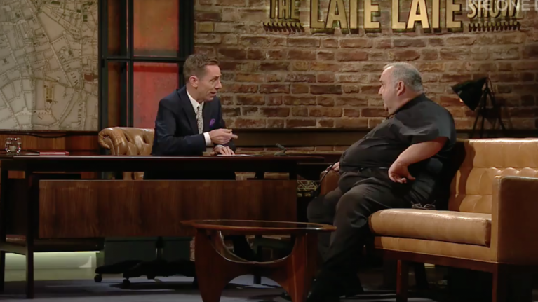 There was a strong reaction to this priest's words on last night's Late Late