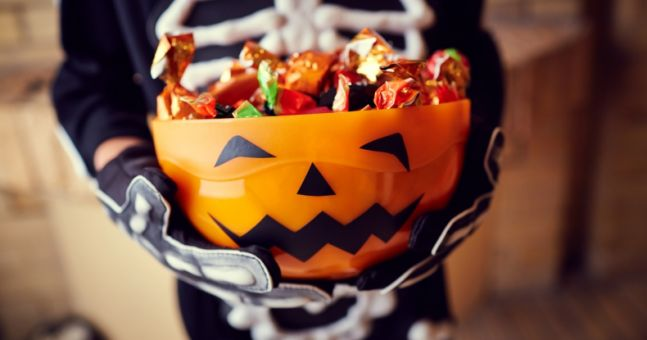 This idea for getting rid of leftover Halloween sweets is so adorable