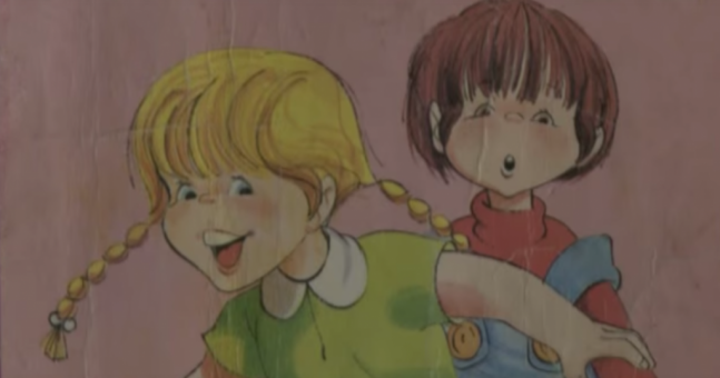 There was something very strange about a kids' book shown on TV3 last night