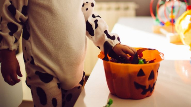 This idea for getting rid of leftover Halloween sweets is seriously adorable