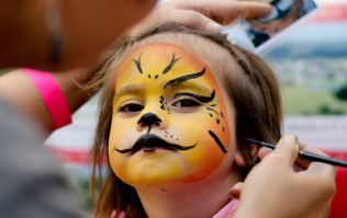 Facebook post shows the dangers of using acrylic paint on children's skin