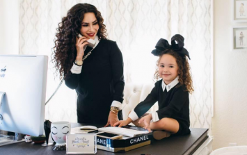 This little lady and her mum are giving us some serious style envy