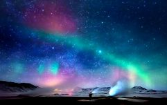 There's a chance the Northern Lights could be seen above Ireland this weekend