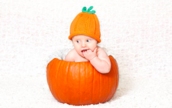 This 'baby Frankenstein' was born on Halloween and he's only adorable
